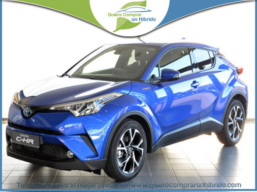 TOYOTA C-HR ADVANCE 180H AZUL NEBULA