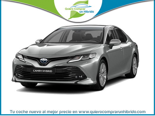 TOYOTA CAMRY 220H LUXURY GRIS PLATA