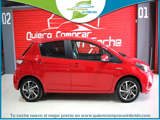 TOYOTA YARIS FEEL ROJO
