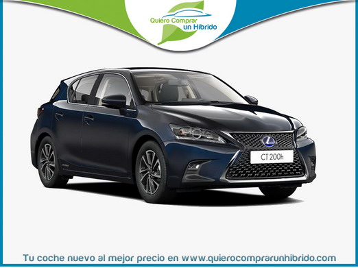 LEXUS CT 200H BUSINESS AZUL OCEANO