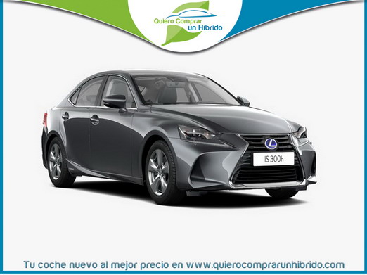 LEXUS IS 300H BUSINESS GRIS OSCURO