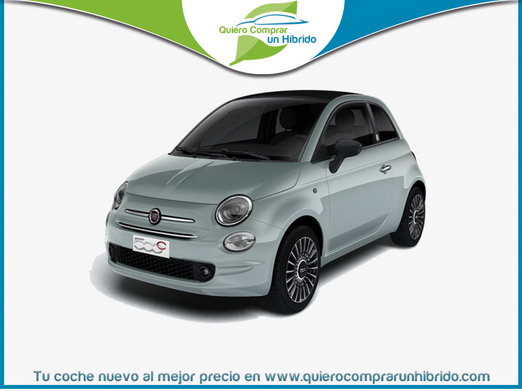 FIAT 500C S8 LAUNCH EDITION HÍBRIDO VERDE LAUNCH