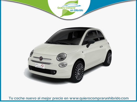 FIAT 500C S8 LAUNCH EDITION HÍBRIDO BLANCO GELATO