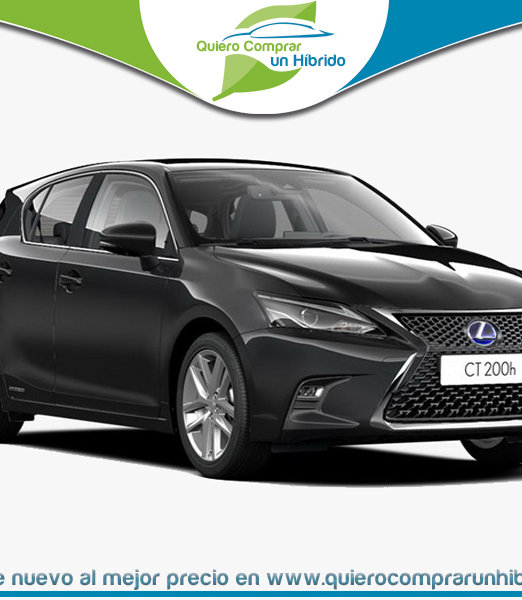LEXUS CT BUSINESS NEGRO GRAFITO