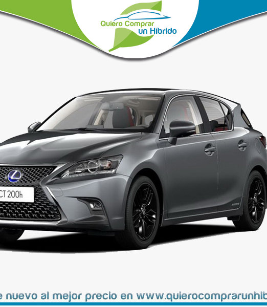 LEXUS CT BUSINESS GRIS OSCURO