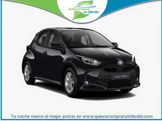 TOYOTA YARIS ACTIVE TECH NEGRO METALIZADO