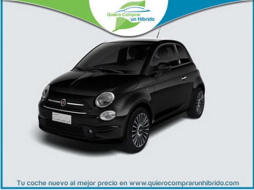 FIAT 500 HIBRIDO LAUNCH EDITION NEGRO