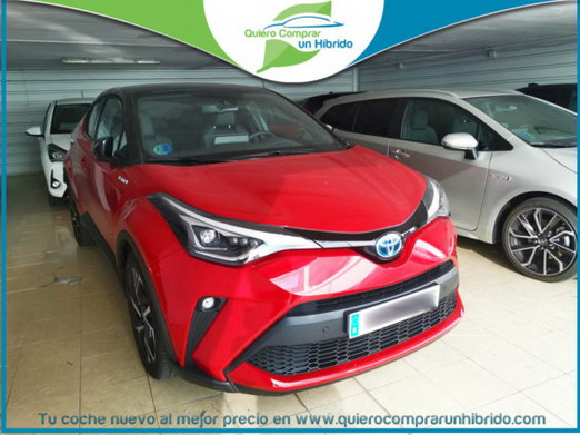 TOYOTA C-HR ADVANCE BITONO ROJO