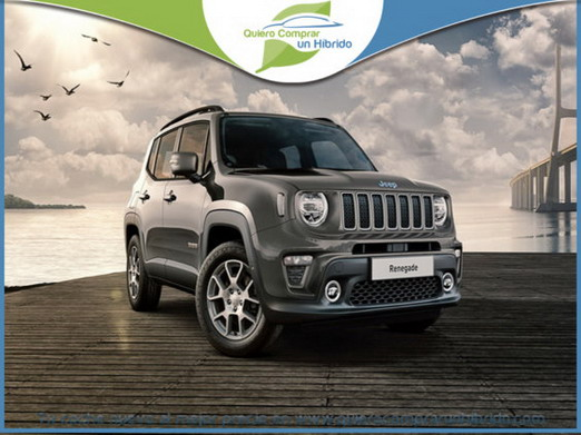 JEEP RENEGADE LIMITED PHEV GRIS GRANITO