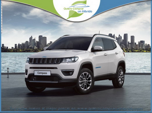 JEEP COMPASS LIMITED PHEV BLANCO ALPINE