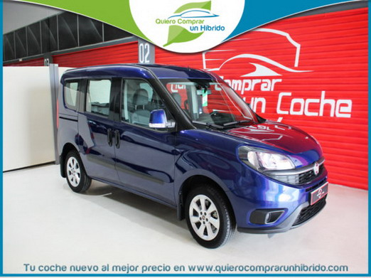 FIAT DOBLO LOUNGE GNC NATURAL POWER AZUL COOL JAZZ