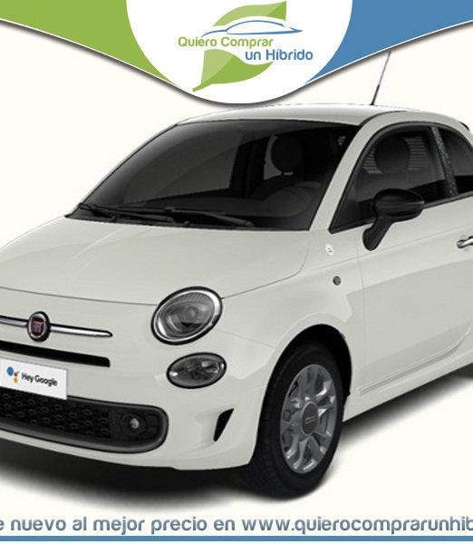 FIAT 500 MY21 HEY GOOGLE HIBRIDO BLANCO GELATO